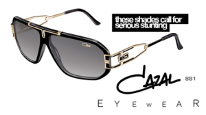 cazal 881 noir or